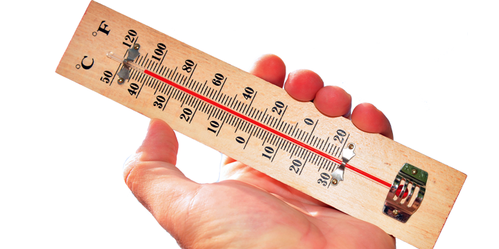 Servis klima Beograd termometar